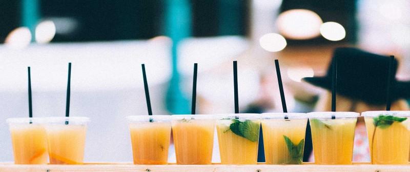 Cócteles libres de alcohol